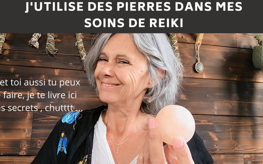 Les Pierres en Reiki