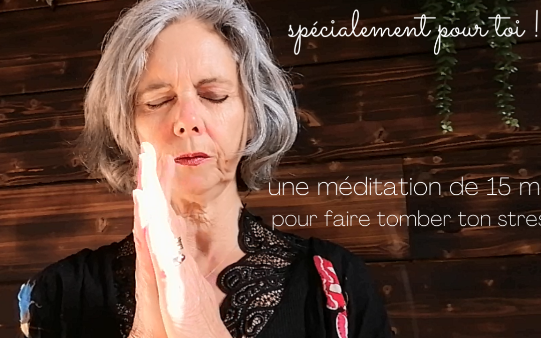 Méditation anti-stress efficace