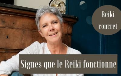 Signes que le Reiki fonctionne